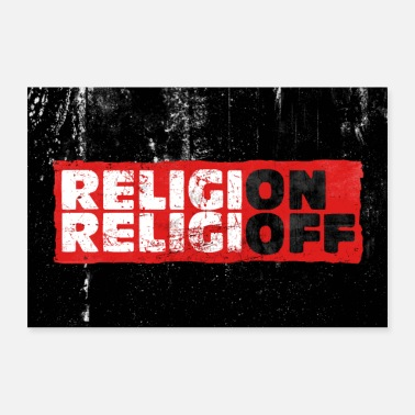 Agnostico Religione On Off - Poster