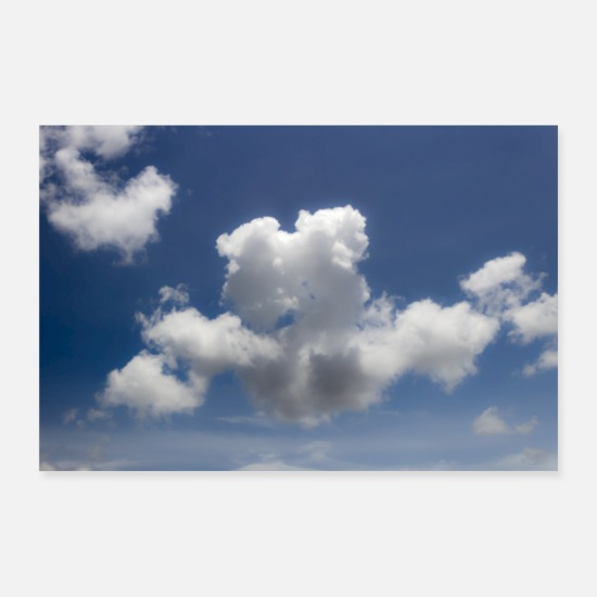 Sky Posters - clouds and sky - Posters white
