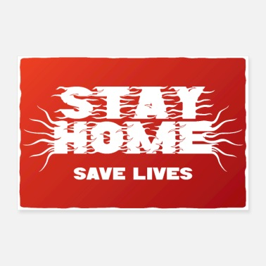 Health Stay Home - Poster