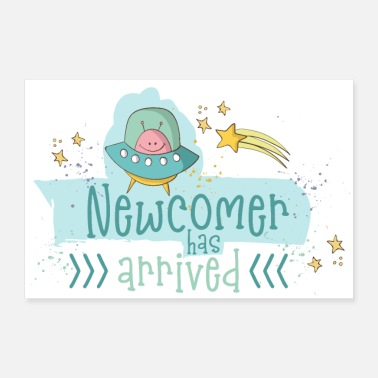 Birth Baby Birth: Newcomer - A boy is born - Poster