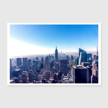 New York - Empire State Building - Poster 90x60 cm
