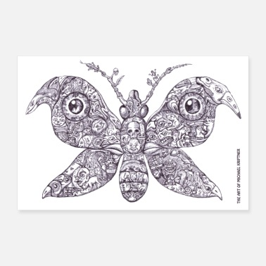 Picture Gingerbread Butterfly - the Art of MK - Poster 90x60 cm