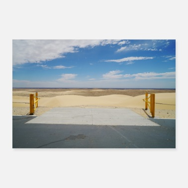 Idea The gate to the desert, gift idea - Poster