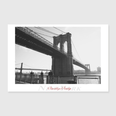 Brooklyn Bridge (Affiche) - Poster 90 x 60 cm