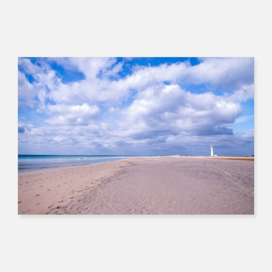 Plage Posters - Plage rêvant III - Posters blanc