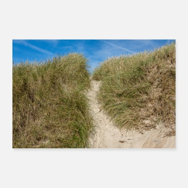 Recreational Dune in Sondervig, Denmark - Poster 36 x 24 (90x60 cm)