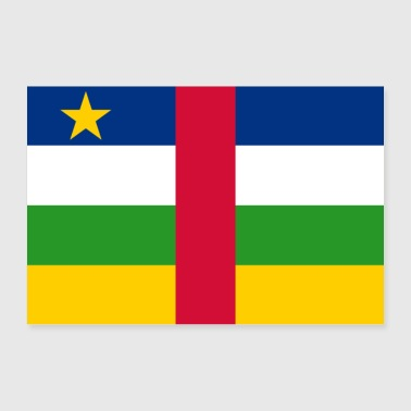 Central African Republic - Poster 36 x 24 (90x60 cm)
