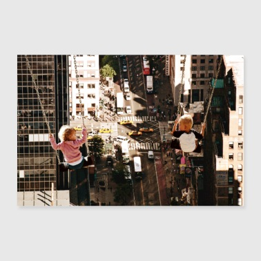 NY City-Manhattan - Poster 90 x 60 cm