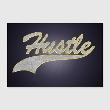 Hustle Jewelry Chain Pendant Bling Bling Poster - Poster 36 x 24 (90x60 cm)