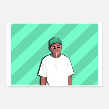 Rap Tyler The Creator Poster - Poster
