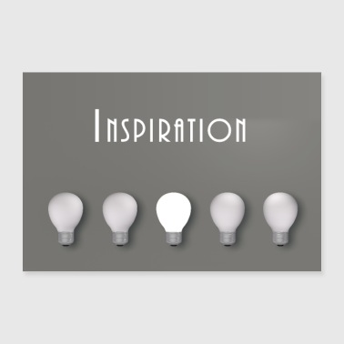 inspiration - Poster 90x60 cm