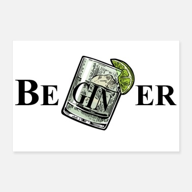 Tonico BeGINer (Gin Tonic) - Poster