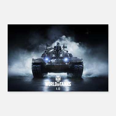 Wot World of Tanks WoT M48A5 PATTON - Poster