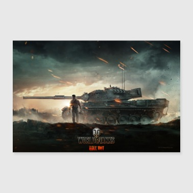 World of Tanks WoT Epic Fight - Poster 36 x 24 (90x60 cm)