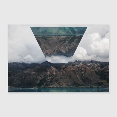Photo Images Poster Triangle Landscape - Poster 36 x 24 (90x60 cm)