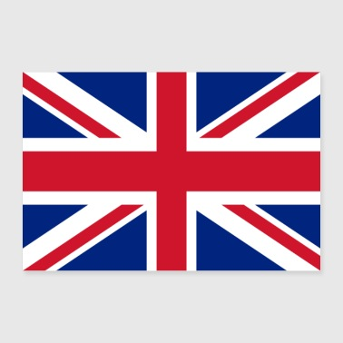 United Kingdom flag - Poster 36 x 24 (90x60 cm)