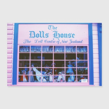 The Dolls House / Analog Fotografie - Poster 90x60 cm