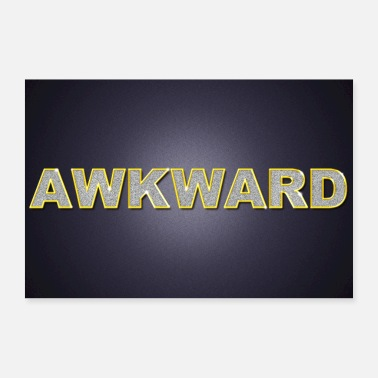 Wealth Awkward Bling Bling Poster Award - Poster 36 x 24 (90x60 cm)