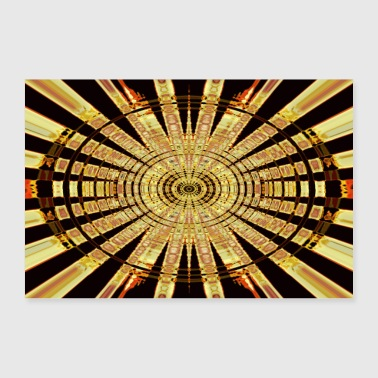 Golden Circle - Poster 36 x 24 (90x60 cm)