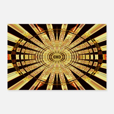 Cercle Cercle d'or - Poster 90 x 60 cm