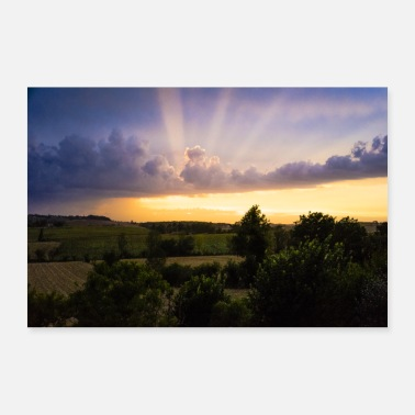 Light SKY LIGHT - Poster 36 x 24 (90x60 cm)
