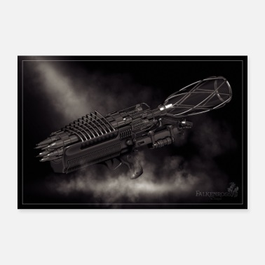 3D tattoo art - Poster 36 x 24 (90x60 cm)