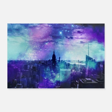 Reisen New York City - Poster 90x60 cm