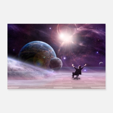 View Space View - Poster 36 x 24 (90x60 cm)