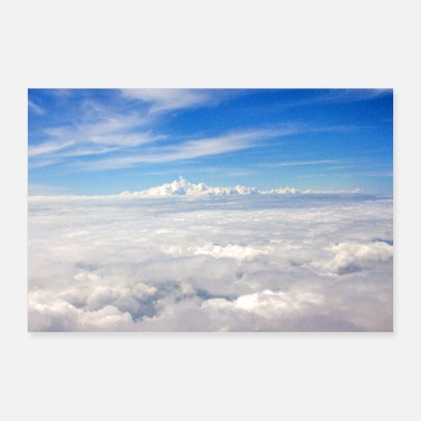 Cloud Above the clouds - Poster 36 x 24 (90x60 cm)