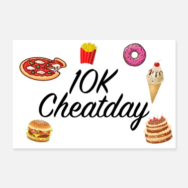 Fast Cheatday fast food - Poster