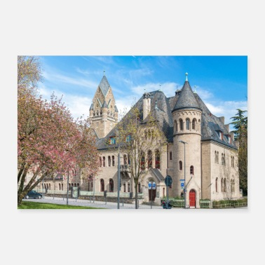 Government Higher Regional Court Koblenz Landmark Poster - Poster