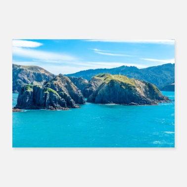 Sound Marlborough Sounds Marlborough Nouvelle-Zélande - Poster