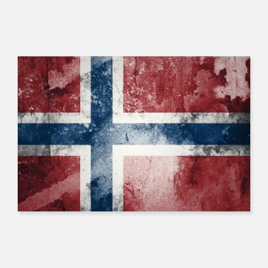 Scandinavia Norway flag - Poster