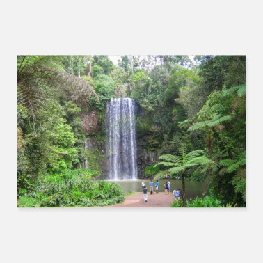 Region Millaa Millaa Falls Tablelands Australien Queenslan - Poster
