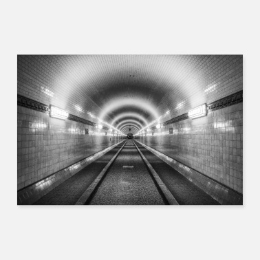 Urban tunnel - Poster