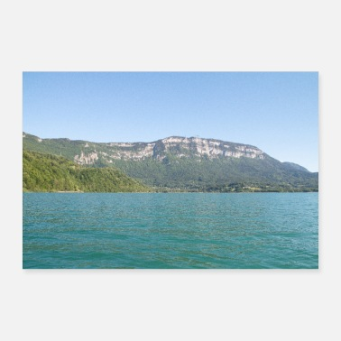 Lake Aiguebelette lake - Poster