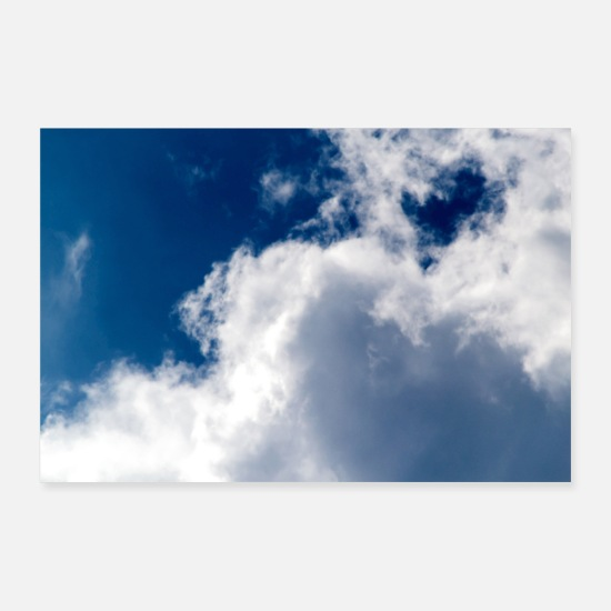 Nature Posters - Aux nuages - Posters blanc