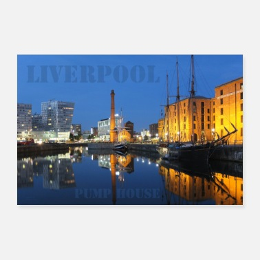 House Liverpool Pump House - Poster 90x60 cm