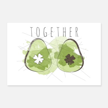 Luck together - Poster