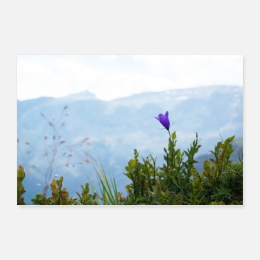 Mountains Mountain landscape - the vastness of the mountains - Poster