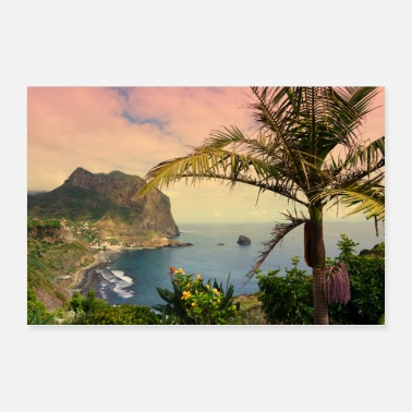 Tree Of Life Green Madeira - Poster