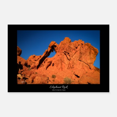 Nevada Valley of Fire - Nevada - (USA) - Poster