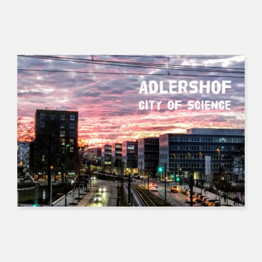 Television Adlershof # City of science - Poster