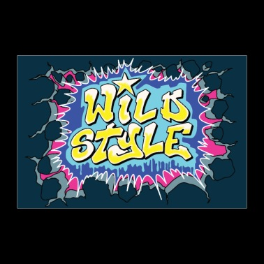 Poster di poster WILD STYLE - Poster 90x60 cm
