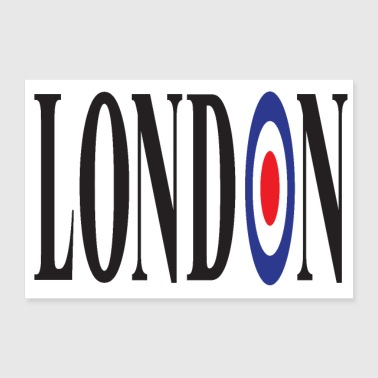 LONDON 3 2 UK 01 - Poster 90x60 cm