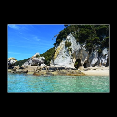New Zealand - Abel Tasman National Park - Poster 36 x 24 (90x60 cm)