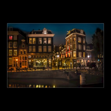 Amsterdam at Midnight - Poster 36 x 24 (90x60 cm)