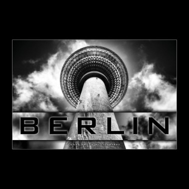 Berlin TV Tower - Jeans Brown Photography - Poster 36 x 24 (90x60 cm)