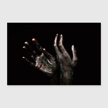 Hands and soul - Poster 36 x 24 (90x60 cm)