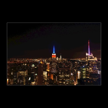 Notte di New York - Poster 90x60 cm
